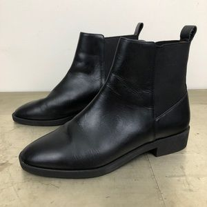 & Other Stories Leather Chelsea Ankle Boots